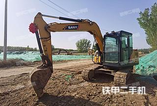 北京三一重工SY75C挖掘机实拍图片