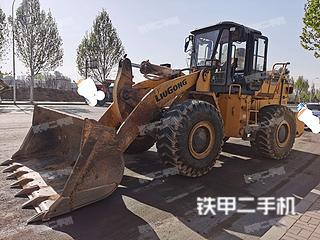安陽柳工CLG855N裝載機實拍圖片