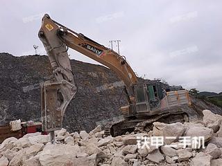 安顺三一重工SY485H挖掘机实拍图片