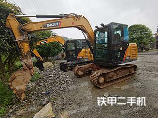 湖南-湘西土家族苗族自治州二手三一重工SY75C挖掘机实拍照片