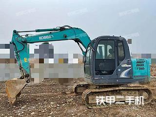 鞍山神钢SK75-8挖掘机实拍图片