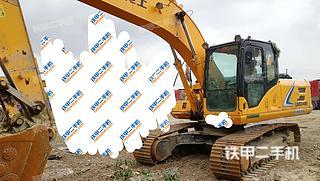 四川-德阳市二手龙工LG6225E挖掘机实拍照片