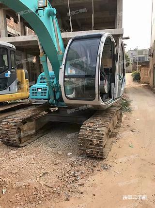 神钢SK100-5挖掘机实拍图片