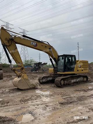 浙江-金华市二手卡特彼勒326挖掘机实拍照片