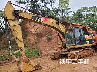 湖南-岳阳市二手卡特彼勒320D液压挖掘机实拍照片