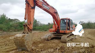 四川-德阳市二手斗山DH225LC-7挖掘机实拍照片