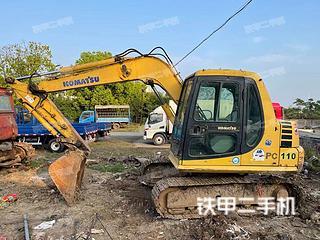 鞍山小松PC60-7挖掘机实拍图片