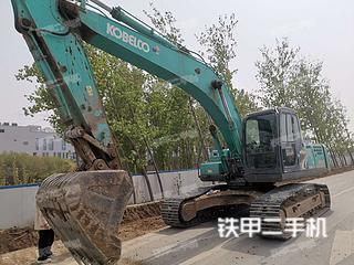 河北-保定市二手神钢SK260LC-8挖掘机实拍照片