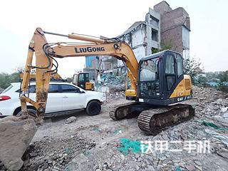 陕西-咸阳市二手柳工CLG908D挖掘机实拍照片