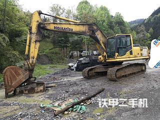贵州-黔东南苗族侗族自治州二手小松PC210LC-8挖掘机实拍照片