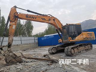 河北-石家庄市二手三一重工SY215C挖掘机实拍照片