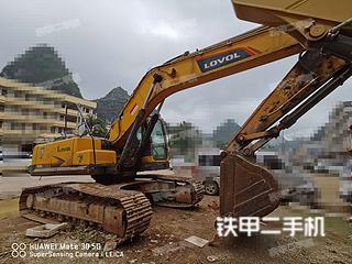 广西-南宁市二手雷沃重工FR260E挖掘机实拍照片