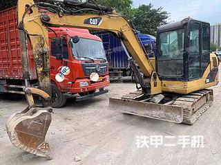 广州卡特彼勒306D液压挖掘机实拍图片