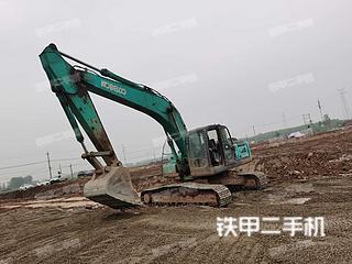 湖北-荆州市二手神钢SK260LC-8挖掘机实拍照片