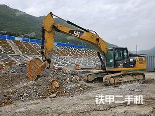 湖北-宜昌市二手卡特彼勒326D2L液压挖掘机实拍照片