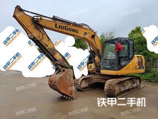 安顺柳工CLG913E挖掘机实拍图片