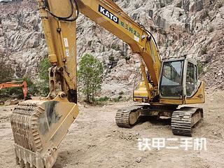 中山加藤HD823MRIII挖掘机实拍图片