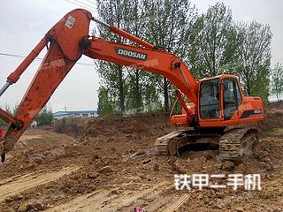河北-邯郸市二手斗山DH220LC-7挖掘机实拍照片