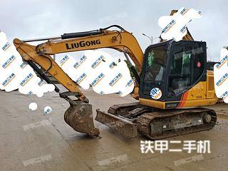 安顺柳工CLG9075E挖掘机实拍图片