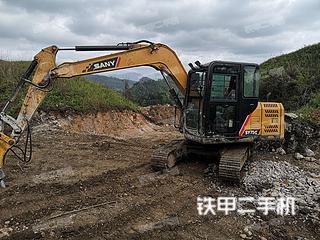三一重工SY70C挖掘机实拍图片