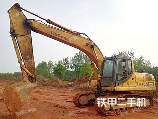 湖南-湘西土家族苗族自治州二手柳工CLG920D挖掘机实拍照片