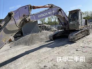 宁波日立ZX240-3G挖掘机实拍图片