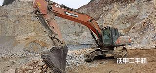 抚顺斗山DX420LC-9C挖掘机实拍图片