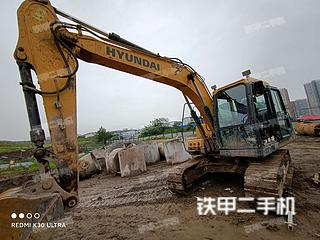 重庆-重庆市二手现代R130VS挖掘机实拍照片