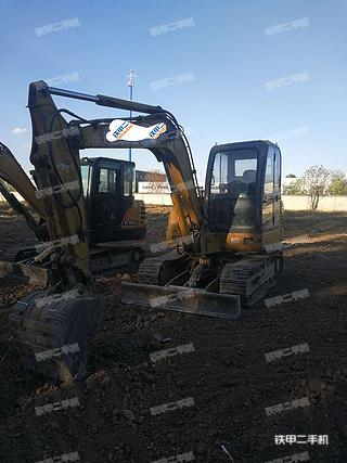卡特重工CT60-7B挖掘机实拍图片