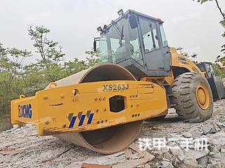 安徽-合肥市二手徐工XS263J压路机实拍照片