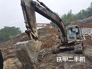 贵州-毕节市二手卡特彼勒324D挖掘机实拍照片