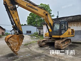 江西-宜春市二手柳工CLG920E挖掘机实拍照片