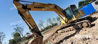 山东-德州市二手小松PC210LC-8挖掘机实拍照片