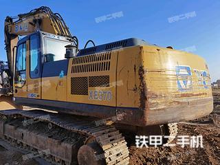包头徐工XE370CA挖掘机实拍图片