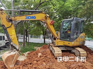 浙江-绍兴市二手徐工XE60D挖掘机实拍照片