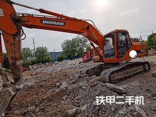 江苏-无锡市二手斗山DH215-7挖掘机实拍照片