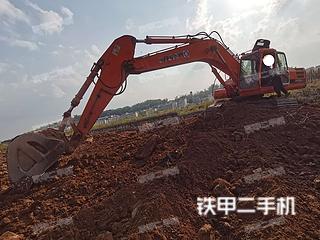 云南-普洱市二手大宇DH300LC-V挖掘机实拍照片