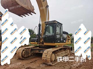 中山卡特彼勒330D液压挖掘机实拍图片