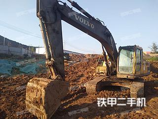 山东-日照市二手沃尔沃EC210BLC挖掘机实拍照片
