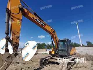 北京三一重工SY235C挖掘机实拍图片