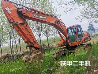 安徽-阜阳市二手斗山DH220LC-7挖掘机实拍照片