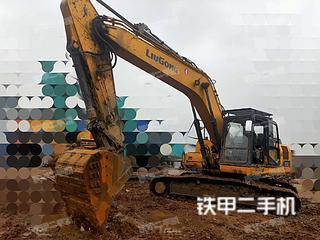 四川-眉山市二手柳工CLG925E挖掘机实拍照片