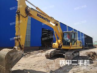 淄博小松PC200-8M0挖掘机实拍图片