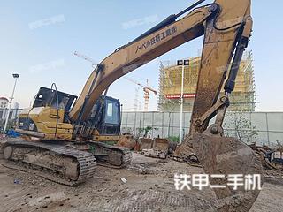 江苏-无锡市二手卡特彼勒320D液压挖掘机实拍照片