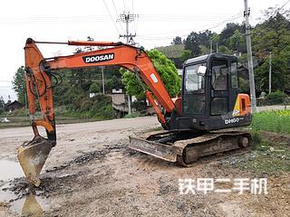贵州-黔东南苗族侗族自治州二手斗山DH55-V挖掘机实拍照片