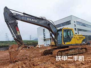广西-柳州市二手沃尔沃EC210BLC挖掘机实拍照片
