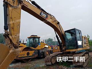 河南-周口市二手卡特彼勒新一代Cat®323液压挖掘机实拍照片