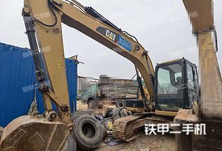 广西-南宁市二手卡特彼勒313D2GC小型液压挖掘机实拍照片
