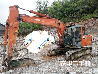 玉林日立ZX120挖掘機實拍圖片