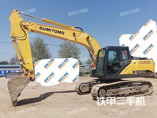 山东-淄博市二手住友SH210-6挖掘机实拍照片